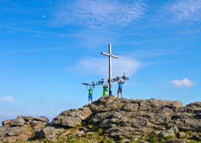Gipfelfoto Großer Arber